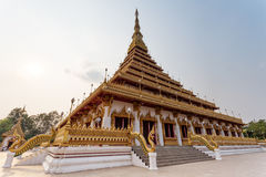 Wat Nong Waeng (Temple) ,Khonkaen Province‎ ,Thailand Royalty Free Stock Photography