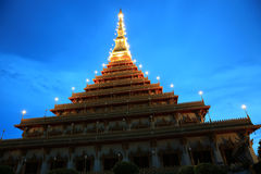Wat Nong Waeng (Temple), Khonkaen Province.,Thailand Stock Photo