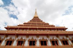Wat Nong Waeng temple, Thai Royal Temple. Stock Photos