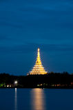 Wat Nong Waeng, Thai Royal temple Stock Image