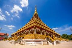 Wat Nong Wang (Phra Mahathat Kaen Nakhon) Images stock