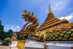Wat Nong Wang (Phra Mahathat Kaen Nakhon) immagine stock libera da diritti