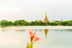 Wat Nong Wang tempel Royaltyfria Foton
