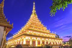 Wat Nong Wang tempel, Thailand Arkivbilder