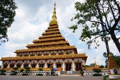 Wat Nong Wang Temple i Khonkaen, Thailand Royaltyfria Bilder