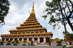 Wat Nong Wang Temple in Khonkaen, Thailand Royalty Free Stock Images
