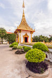 Wat nong wang, thai tempel Royaltyfri Bild