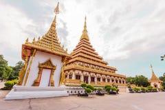 Wat nong wang, thai tempel Arkivbild