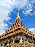Wat Nongwang. Beautiful building Wat in Khonkaen Thailand Royalty Free Stock Image