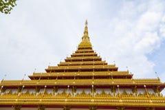Wat Nongwang i Khon Kaen, Thailand arkivfoto