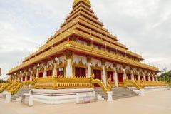 Wat Nongwang i Khon Kaen, Thailand arkivbild