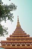 Wat Nongwang Temples at Khon Kaen Royalty Free Stock Images