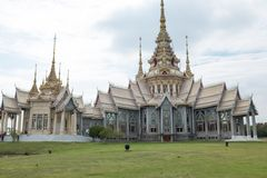 Wat Nonkhum,Sorapong. Famous Temple of Khorat, I`ve traveled to the sacred altar in the day`s major religion Stock Photos