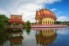 Wat Nuan Naram temple. In Plai Laem, Ko Samui Island, Thailand Stock Photo