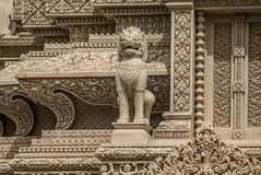 Wat oudong Καμπότζη Στοκ Εικόνες