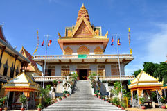 Wat Ounalom royalty free stock photography