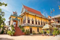 Wat Ounalom Pagoda, Phnom Penh, Cambodia. Stock Image
