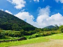 Wat over de berg is stock fotografie