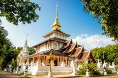 Wat Pa Dara Phirom stockbild