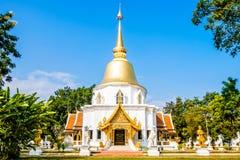 Wat Pa Dara Phirom. A beautiful temple in Mae Rim royalty free stock image