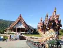 Wat Pa Huai Lat, Phu Rua, Loei stock afbeelding
