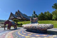 Wat Pa Huay Lad tempel Arkivbilder