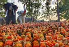 Wat Pa Kham Hua Chang image stock