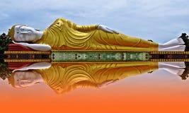 Wat-PA-kitti-ya-NU-hijo de descanso Khon Kaen de Buda Imagenes de archivo