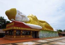Wat-PA-kitti-ya-NU-hijo de descanso Khon Kaen de Buda Foto de archivo libre de regalías