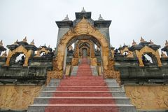 Wat Pa Kung, Roi Et, Thailand. Beautiful and famous temple Royalty Free Stock Photography