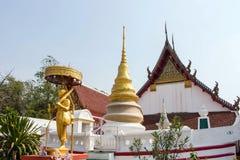 Wat Pa Mok Worawihan in Ang Thong Province stockbild