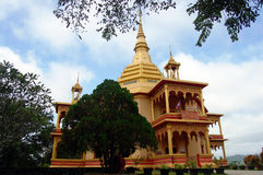 Wat Pa Phonphao na cidade de Luang Prabang em Loas Fotografia de Stock Royalty Free