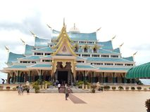Wat Pa Phu Kon Arkivbilder