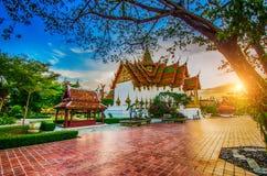 Wat Pa Phu Kon Royaltyfri Fotografi