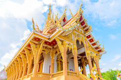 Wat Pa Saeng Arun-tempel Stock Foto's