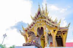 Wat Pa Saeng Arun-tempel Royalty-vrije Stock Foto