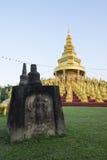 Wat Pa Sawang小圆面包寺庙 免版税库存照片