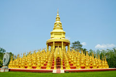 Wat-Pa-Sawang-Boon Temple Royalty Free Stock Images