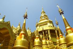 Wat-Pa-Sawang-Boon Temple Royalty Free Stock Photo