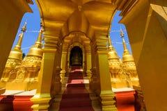 Wat Pa Sawang Bun i Saraburi Royaltyfria Bilder