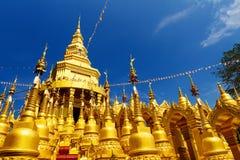Wat Pa Sawang Bun i Saraburi Royaltyfria Foton