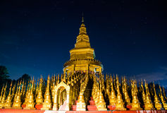 Wat Pa Sawang Bun Temple. Royalty Free Stock Photo