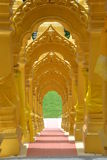 Wat-PA-Sawang-välsignelse tempel Fotografering för Bildbyråer