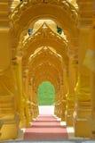 Wat-pa-Sawang-zegen Tempel Stock Afbeelding