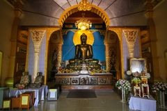 WAT PA SIRI瓦塔纳WISUT,那空沙旺,泰国 库存图片