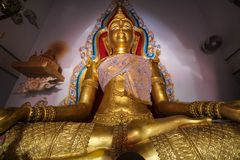 WAT PA SIRI瓦塔纳WISUT,那空沙旺,泰国 库存照片