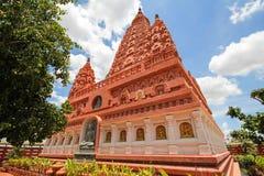 WAT PA SIRI瓦塔纳WISUT,那空沙旺,泰国 图库摄影