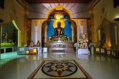 WAT PA SIRI瓦塔纳WISUT,那空沙旺,泰国 免版税库存图片