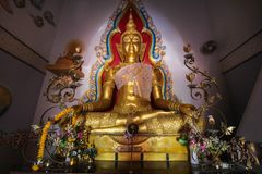 WAT PA SIRI WATTANA WISUT, NAKHON SAWAN, Ταϊλάνδη Στοκ Εικόνες