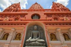WAT-PA SIRI WATTANA WISUT, NAKHON SAWAN, Thailand Stock Foto